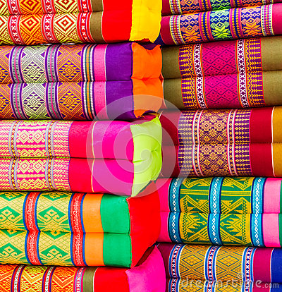 Free Various Colorful Pillow Royalty Free Stock Image - 35669356