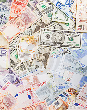 Free Various Currencies Royalty Free Stock Image - 1901206
