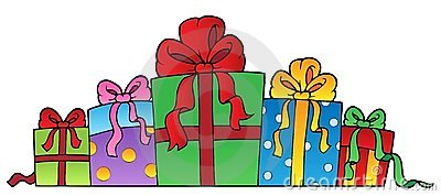 Various Decorated Gifts 1 Stock Images - Image: 21634894