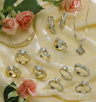 Free Various Diamond Jewelry Stock Photos - 3049843
