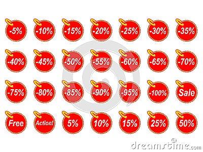 Various discounts