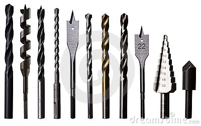 Drill bits for wood and metal