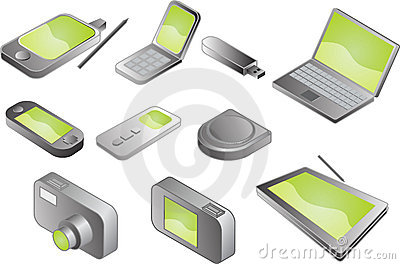 Various electronic gadgets