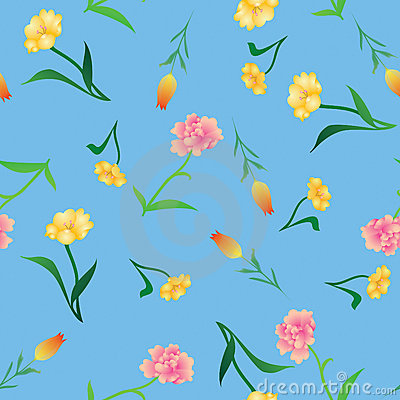 Free Various Flowers Background Royalty Free Stock Photos - 18108298