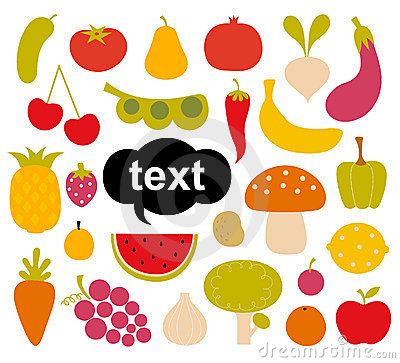 Free Various Fruits And Vegetables Stock Photo - 13610900