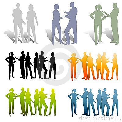 Free Various Groups Of Collaboration Royalty Free Stock Image - 4633326
