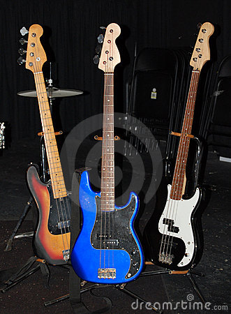 Free Various Guitars On Stage Stock Images - 8075074