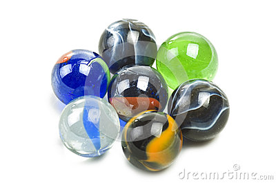 Various marbles