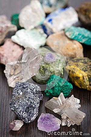 Various minerals