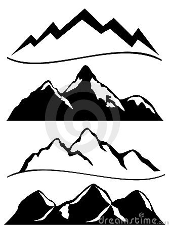 Various mountains