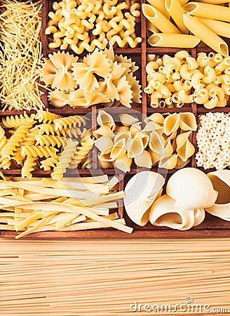 Free Various Pasta Royalty Free Stock Image - 54881926