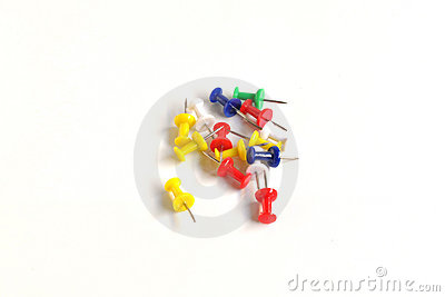 Various push pins