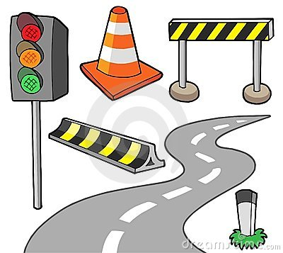 Free Various Road Objects Stock Photo - 7300670