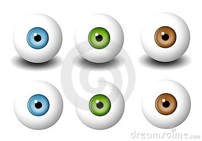 Various Single Eyeballs