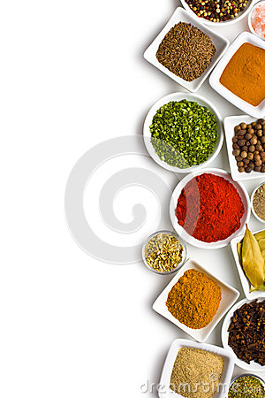 Free Various Spices And Herbs. Royalty Free Stock Image - 29334706