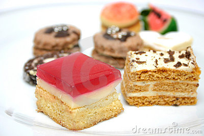 Various Sweets Detail