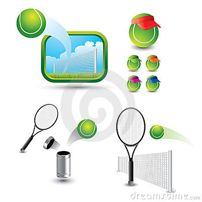 Various Tennis Scenes And Shots Stock Photo - Image: 20115050