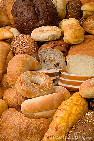 Free Various Types Of Bread Stock Photos - 3428033