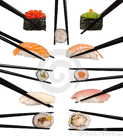 Free Various Types Of Sushi Stock Photos - 21416183