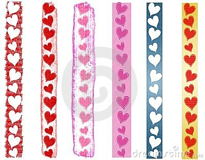 Various Valentine s Day Heart Borders 2