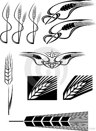 Various Wheat icons
