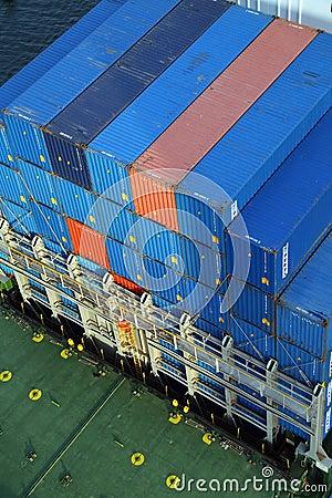 VARNA, BULGARIA - SEPTEMBER 26: Turkish cargo ship Editorial Image