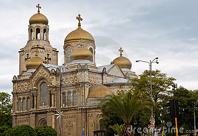 Varna Cathedral,Bulgaria
