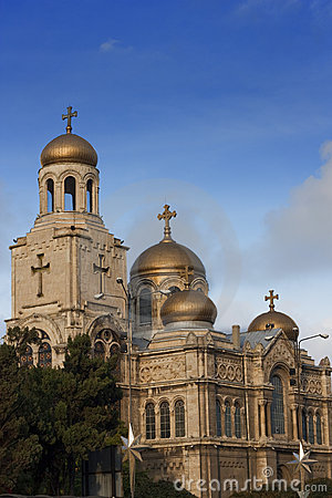 Varna Cathedral,Bulgaria