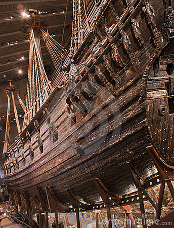 Vasa Ship Editorial Image