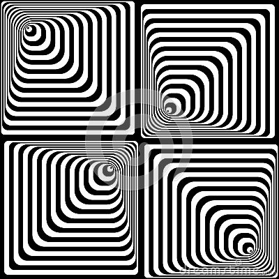 Vasarelly optical effect.