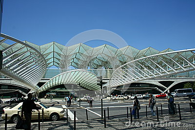 Vasco da Gama metro station Editorial Stock Image