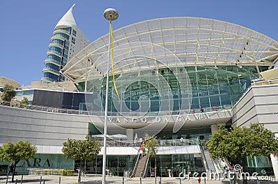 Vasco da Gama Shopping Centre Editorial Photo
