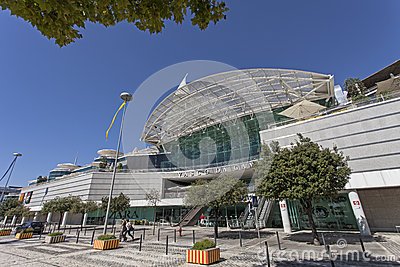 Vasco da Gama Shopping - Lisbon Editorial Stock Photo