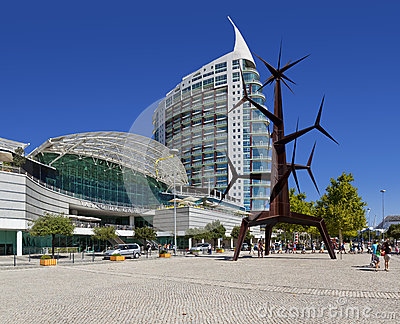 Vasco da Gama Shopping - Park of Nations - Lisbon Editorial Photo