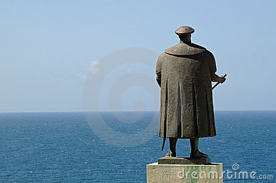 Vasco de Gama and the Ocean