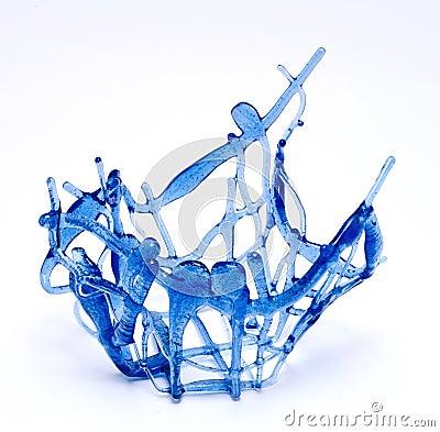 Free Vase Blue Stock Image - 48851741