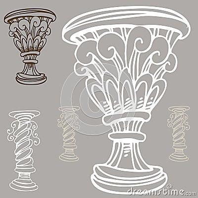 Vase and Urn Set