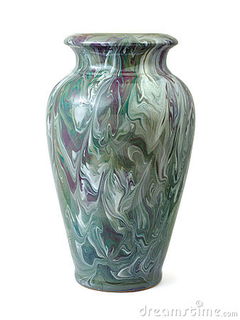 Free Vase With Abstract Pattern Stock Photo - 7732590
