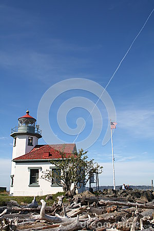 Free Vashon Island Lighthouse, Washington, USA Stock Images - 28772794