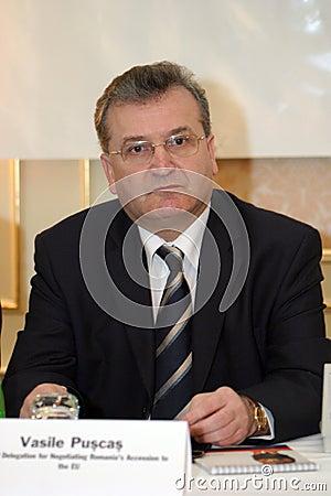 Vasile Puscas Editorial Stock Image