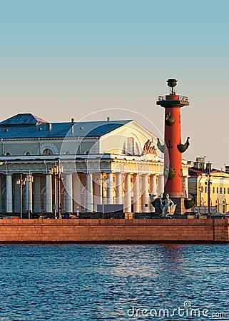 Vasilevsky island.