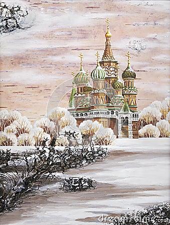 Vasily Blazhennogo s Temple