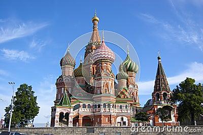 Vasily s temple blissful