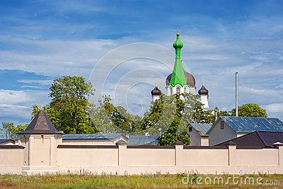 Vasknarva church. Estonia