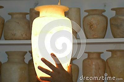 Vaso do alabastro