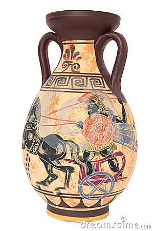 Vaso greco immagini stock immagine 4959504 for Vaso greco antico