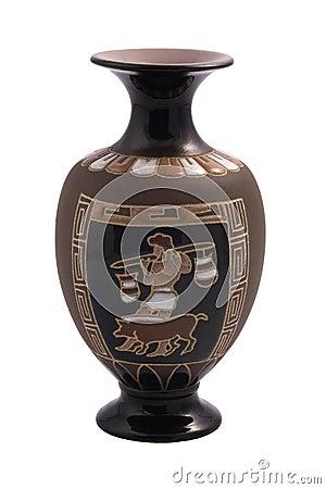 Vaso greco immagine stock libera da diritti immagine for Vaso greco a due anse