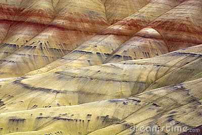 The vast geology of Painted Hills.