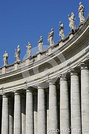 Free Vatican Columns Stock Photos - 562403