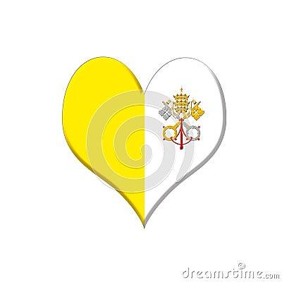 Vatican heart.